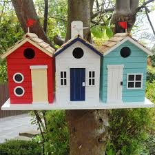 garden bazaar beach hut bird house 21 x 43 x 14 5cm costco uk