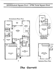 garrett floor plan lenox homes llc