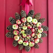 Fruit Decoration For Christmas by Christmas Decorating With Apples