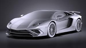 Lamborghini Aventador Grey - lamborghini aventador lp750 4 sv roadster 2016 vray squir