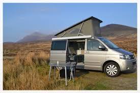 vw minivan camper wild camping in scotland u2013 camper vans and motorhomes u2013 wild about
