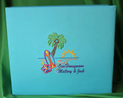 tropical photo album tropical photo album etsy