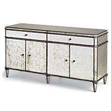 Mirror Credenza Mirrored Furniture Decor Overstock Providing Current High