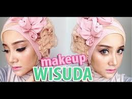 tutorial makeup natural wisuda makeup hijab wisuda produk lokall indonesia linda kayhz