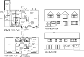 ground floor extension plans two storey extension increase in first floor including raising