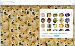 Doge Meme Wallpaper - doge hd wallpaper new tab themes chrome web store