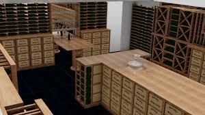wine cellar design and 3d visuals carlo garn