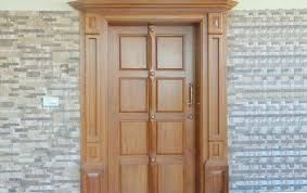 kerala style house front single door design rift decorators