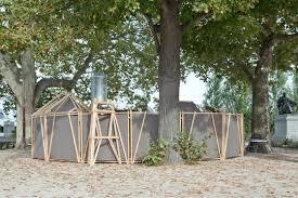 bureau a verita by bureau a temporary structures