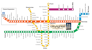 Toronto Subway Map Citylights On Broadway Citylights 2 Condo