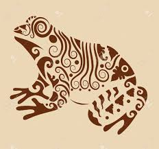 vintage frog ornament royalty free cliparts vectors and stock