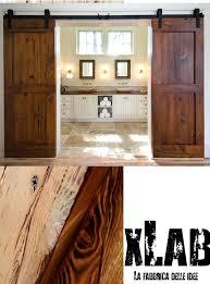 porte in legno massello doppia porta scorrevole barn doors in legno massello 80x210 anche