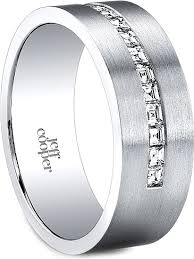 channel set wedding band jeff cooper channel set diamond wedding band 7 5mm r3290