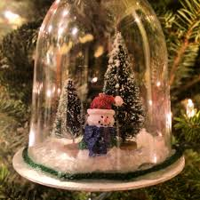 diy snow globe ornaments back bayou vintage