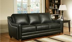Wood And Leather Sofa How To Choose The Best Leather Sofa Color For Your Living Room