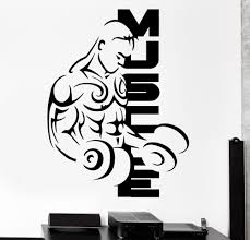 Modern Wall Stickers For Living Room Compare Prices On Bodybuilding Stickers Online Shopping Buy Low
