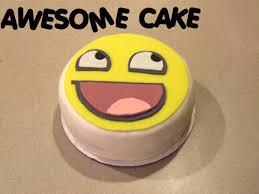 Awesome Face Meme - 19 marvelous meme cakes smosh