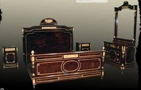 schlafzimmer barock antik und barock stil schlafzimmer louisxv de stilechte möbel
