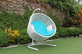 Hanging Patio Chair by Your Yard Will Look Cool With Our Modern Patio Furniture And