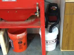 Used Blast Cabinet Simple Dust Trap For Your Blast Cabinet Less Than 20 Page