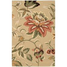 French Country Wallpaper by Nourison French Country Beige 8 Ft X 10 Ft 6 In Area Rug 032492