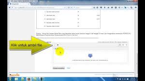 pendaftaran tutorial online ut cara melakukan unggah tugas pada tutorial online ut youtube