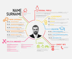creative resume template free creative resume template design vectors 04 vector business free