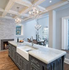 Transitional White Kitchen - best 25 transitional kitchen island lighting ideas on pinterest