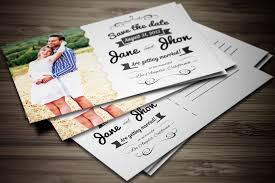 best size for wedding invitations postcard wedding invitations afoodaffair me