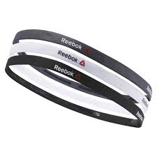 thin headbands reebok one series thin headbands black reebok mlt
