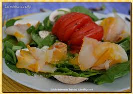 cuisiner du haddock salade de pousses d épinards et haddock fumé la cuisine de lilly