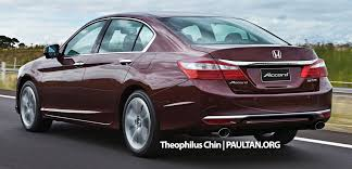 honda accord coupe india honda accord to launch in india in 2016 hybrid to follow