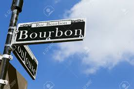 bourbon sign sign for the world bourbon in the