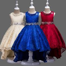 fancy frocks 5 14 years girl diamond ties belt floral lace net