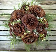 Dried Flower Arrangements Woodland Wedding Bouquet Natural Dried Flower Bouquet