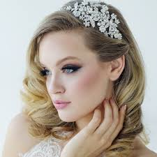 bridal hair accessories uk bridal headbands pearl wedding headbands