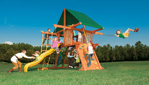 Double Swing Play King Woodplay Outback 5 U0027 W Double Swing Arm From Play King