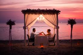 private wedding ceremony and romantic dinner on koh samui