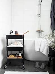 Bathroom White And Black Interior by Best 25 Ikea Bathroom Ideas On Pinterest Ikea Bathroom Mirror