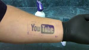 tattoo stencil how to apply with deodorant youtube