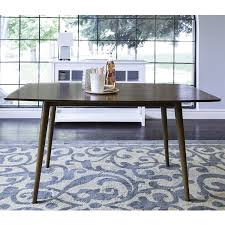 Gray Dining Room Table Amazon Com Coaster 105361 Home Furnishings Dining Table Walnut
