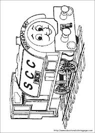 thomas train coloring pages free kids