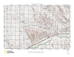 Wray Colorado Map Frenchman Creek Republican River Drainage Divide Area Landform