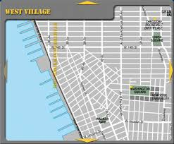 tourist map of new york west new york city tourist map washington square nyc