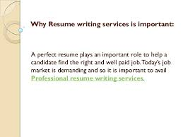 paid resume why resume writing services is important
