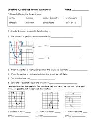 solving quadratic functions worksheet free worksheets library