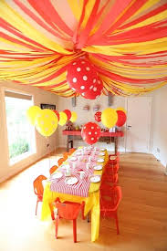 streamers paper crepe paper streamers make the big top ceiling for a