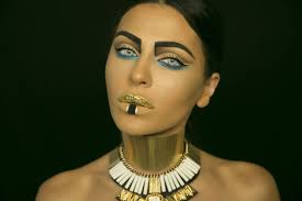 Pharaoh Halloween Makeup Tutorial Youtube