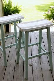 saddle seat bar stools refresh restyle