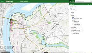 map of camden maine in camden a project to tell residents where it s safe to walk